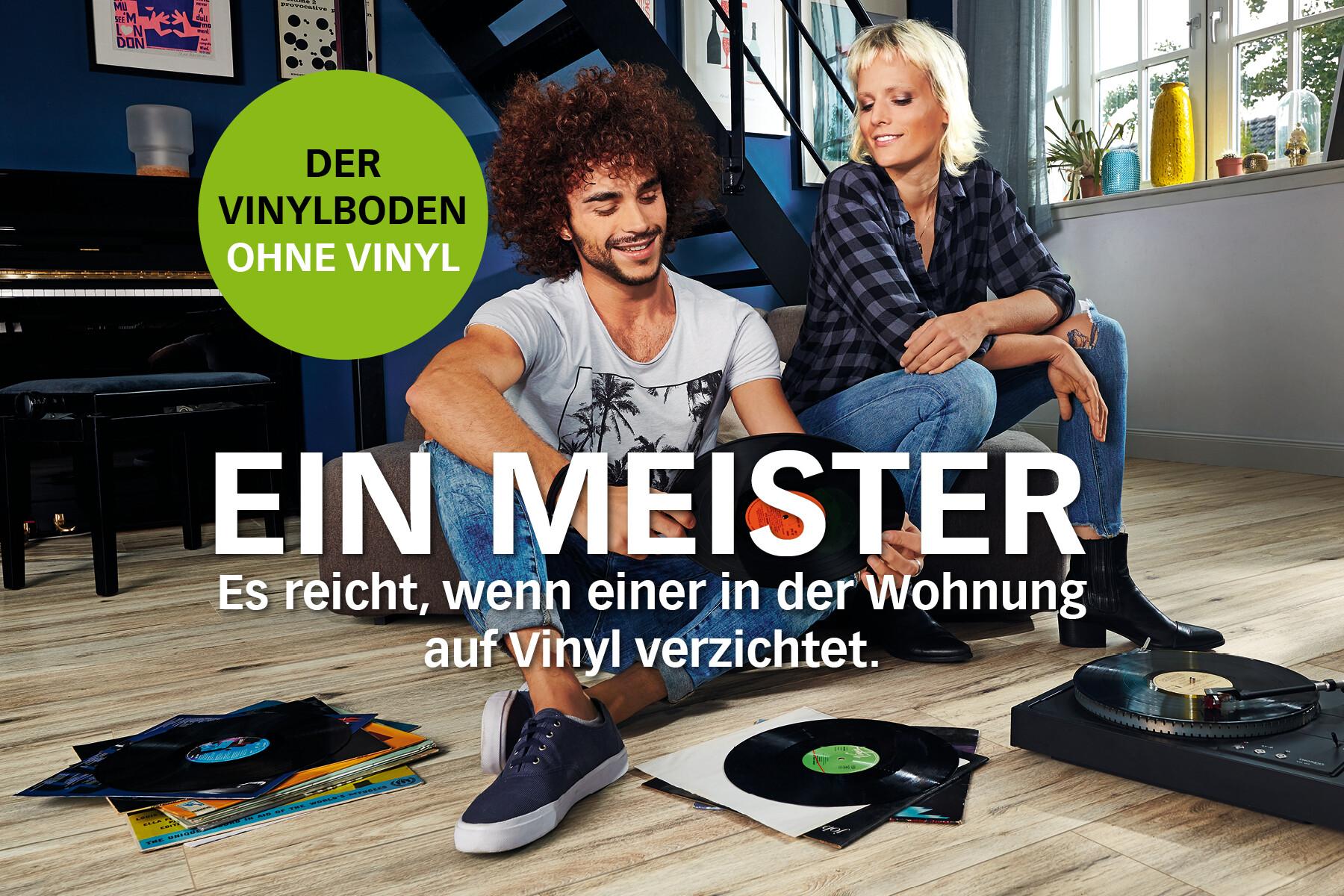 Vinylboden ohne Vinyl von MEISTER