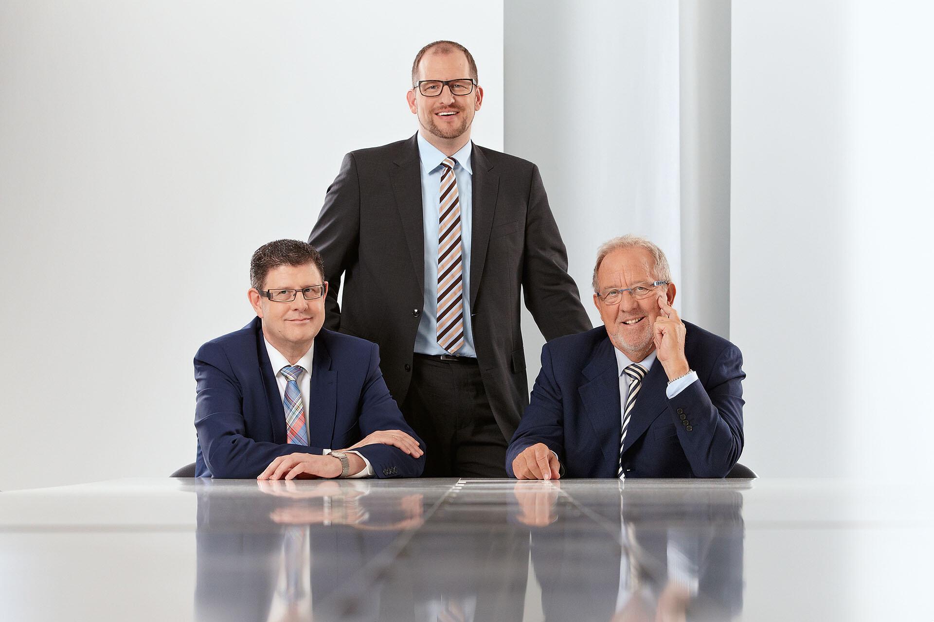 Die drei Geschäftsführer der MEISTERWERKE