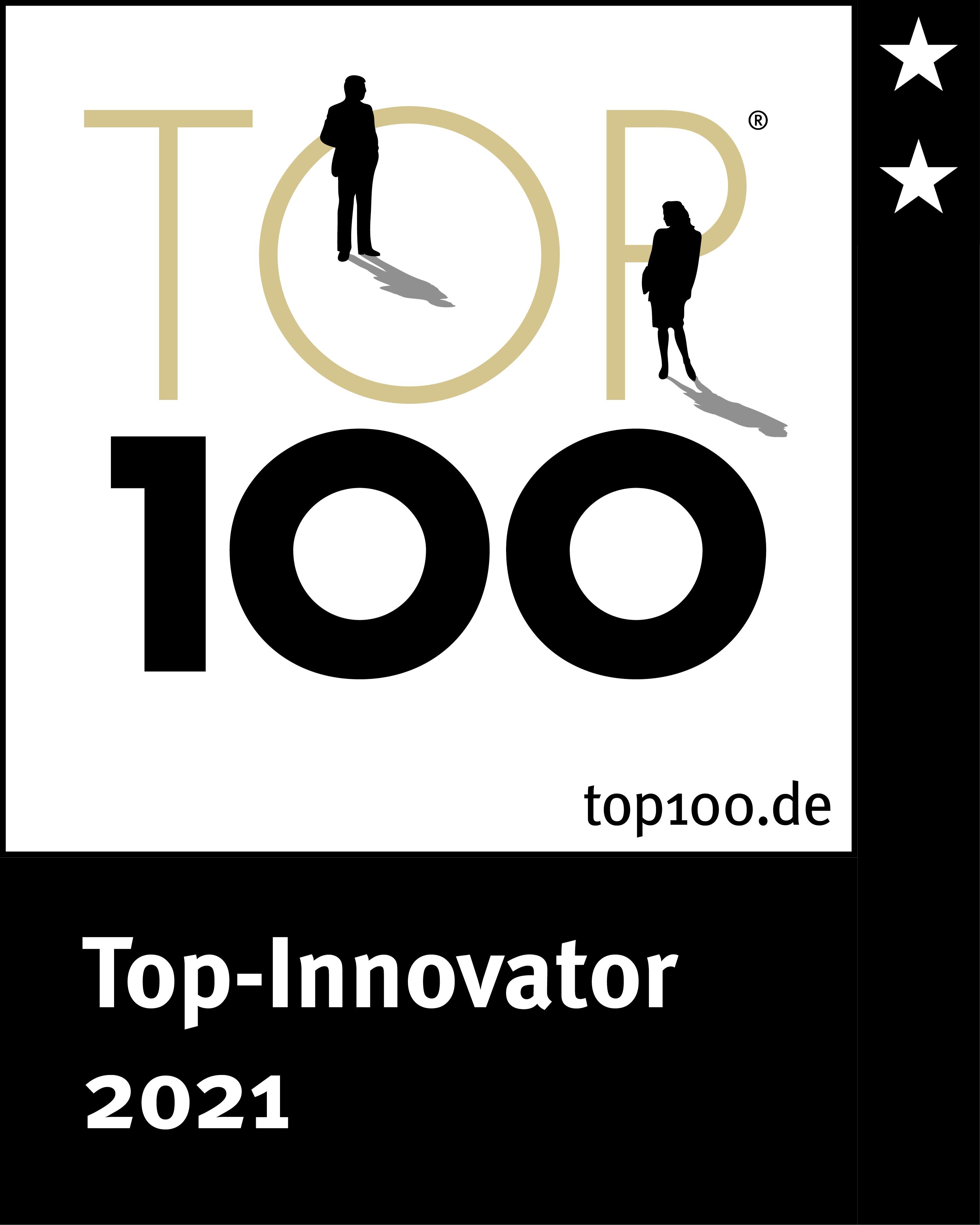 TOP100 innovator seal for MEISTERWERKE